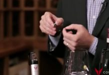 Pouring with Coravin